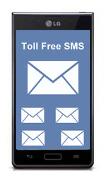 toll free sms